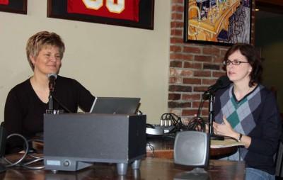Brenda VanLengen and Mechelle Voepel
